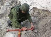 Противопехотную мину нашел местный житель в Галском районе