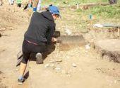 Археологи нашли в Абхазии плинфу с надписью на арамейском языке