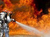 Двухэтажный дом загорелся в Сухуме