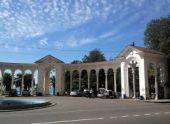 В Гагре проходит восстановление колоннады