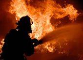 В Сухуме загорелся жилой дом