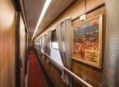 В межсезонье продолжит курсировать ретро-поезд из Сочи в Гагру