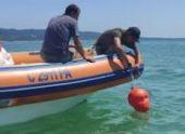 На море в Сухуме установили ограничительные буи