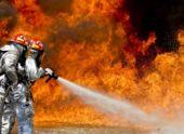 В автосервисе Сухума произошел пожар